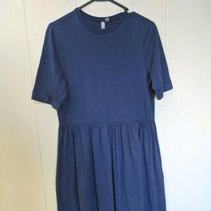 Asos Dress Sz 6 Blue Shirt Dress